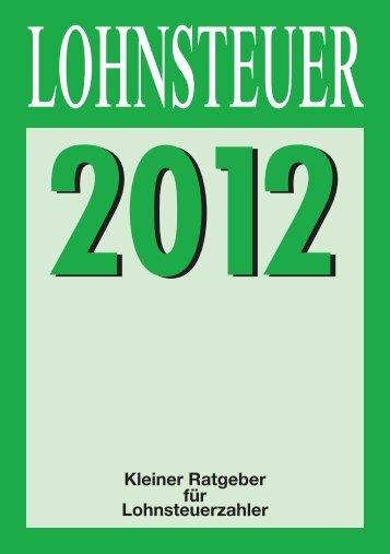 Lohnsteuer 2012 - Finanzamt Biberach