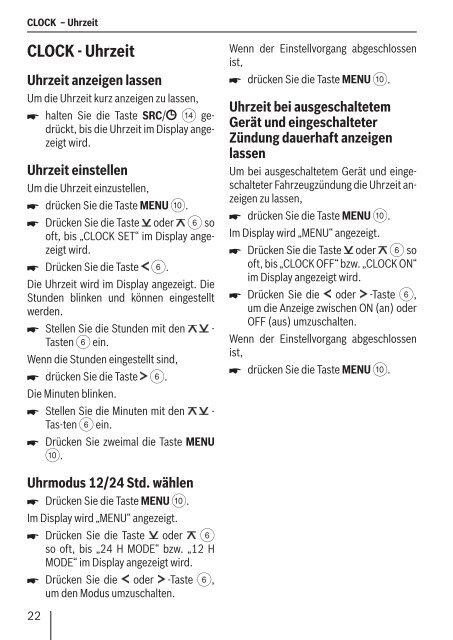 Radio CD Madeira CD27 Porto CD27 - Blaupunkt