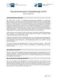 Merkblatt-Rundfunkbeitrag-Stand-August-2013 - IHK Bonn/Rhein-Sieg