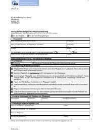 Antrag auf ambulante Leistungen - IKK Brandenburg und Berlin