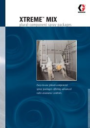300612E , XTREME MIX plural-component spray packages