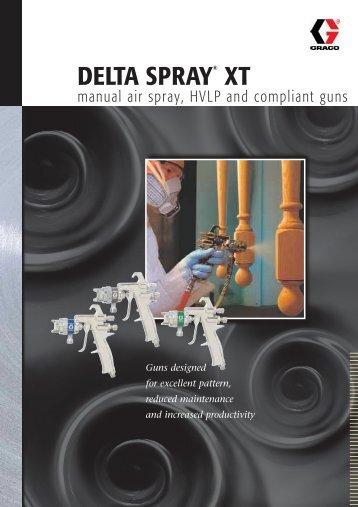 336435E , DELTA SPRAY® XT manual air spray, HVLP and ...