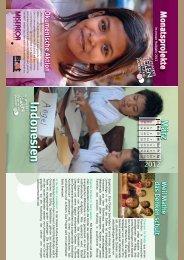 MISEREOR Kalender 2012: Maret - Matematika Melatih Cara Berpikir