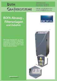 BOFA Absaug-, Filteranlagen und Zubehör - Buth Graviersysteme ...