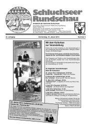 Rundschau Nr. 3.pdf - Gemeinde Schluchsee