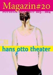 premiere - Hans Otto Theater