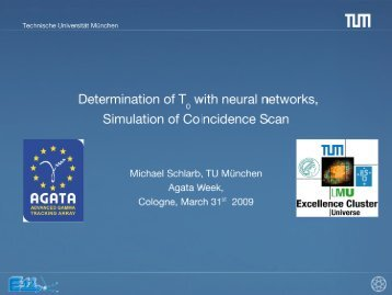 Determination of t0 using a Neural Network