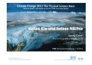 Kaltes Eis und heisse Nächte - FWF