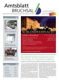 Amtsblatt KW 50/2013 - Bruchsal