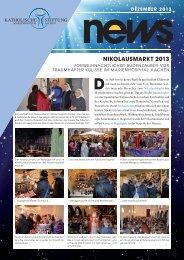 News Dezember 2013 - Katholische Stiftung Marienhospital Aachen