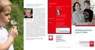 Flyer Caritasstiftung Paderborn