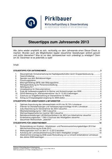 Download - Pirklbauer Gruppe