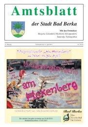 Ausgabe 4/2013 - Kurstadt Bad Berka