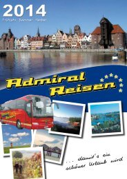 Download PDF Katalog - Admiral Reisen