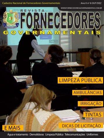 Revista Fornecedores Governamentais 8