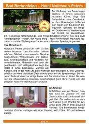 Bad Rothenfelde - Hotel Noltmann-Peters - DRK-Kreisverband ...