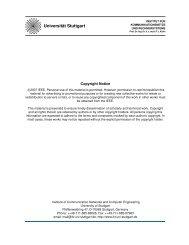 View - Institut für Kommunikationsnetze und Rechnersysteme ...