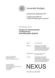 PDF - Institut für Kommunikationsnetze und Rechnersysteme ...