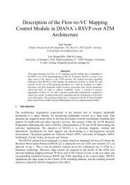 Description of the Flow-to-VC Mapping Control Module in DIANA´s ...
