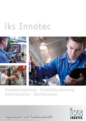 Folder iks Innotec (PDF) - iks Gruppe