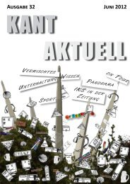 T iKs in Ausgabe 32 Juni 2012 - Immanuel-Kant-Schule Rüsselsheim
