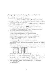 Komplex III: Algebraische Strukturen - IKS