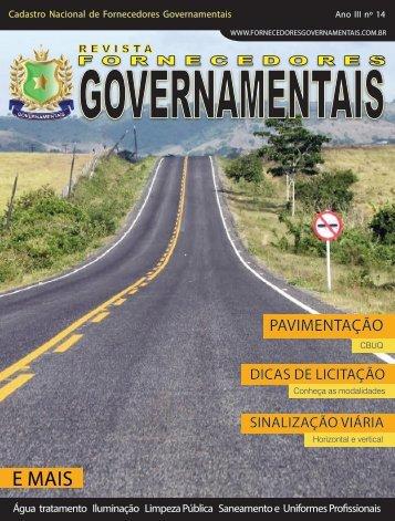 Revista Fornecedores Governamentais 14