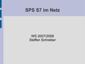 SPS S7 im Netz - IKS