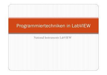 Programmiertechniken in LabVIEW.pdf - IKS