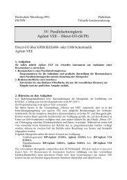 Parallelschwingkreis Agilent VEE - IKS - Hochschule Merseburg