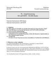9L: Ampelsteuerung NI LabVIEW - NI-DIO-Karte - IKS - Hochschule ...