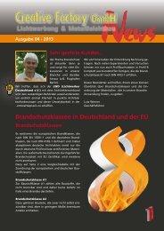 Information finden sie hier! - Creative Factory GmbH