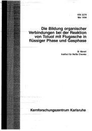 Page 1 Page 2 Page 3 ' Institut für Heiße Chemie i KfK 5274 Die ...