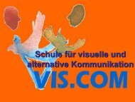 Schule für visuelle und alternative Kommunikation - IKT Forum