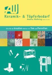 Andrea Wolbring Katalog - Keramikbedarf und Töpferbedarf ...