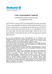 Frühe Kommunikations-Förderung - IKT Forum