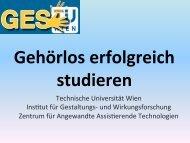 Technikunterstützung - IKT Forum