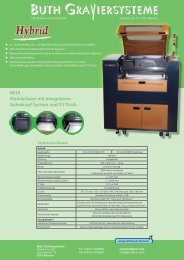 NEU! Markierlaser mit integrietem Galvokopf System und Xy-Tisch