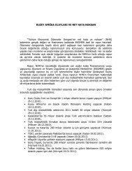 """KUZEY AFRĐKA OLAYLARI VE NET HATA NOKSAN """"Türkiye ..."""