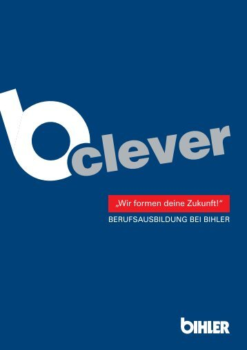 b-clever Ausbildung bei Bihler.pdf
