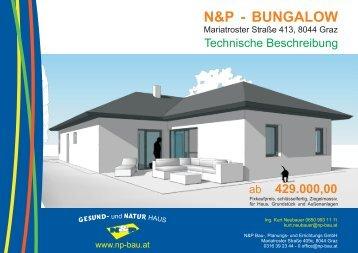 Prospekt - N&P Bau-, Planungs- und Errichtungs GmbH