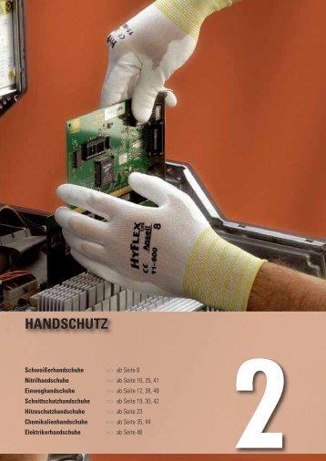 Katalog Handschutz - KAMAN WINKLER GmbH