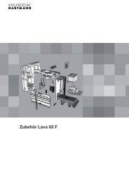 LAVA 65 F - ZUBEHÖR (Stand 04/2010)