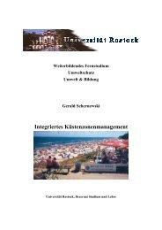 Integriertes Küstenzonenmanagement - IKZM-D Lernen