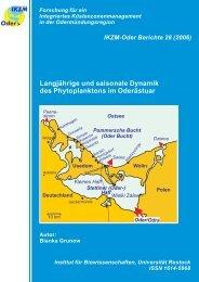 Langjährige und saisonale Dynamik des Phytoplanktons im ...