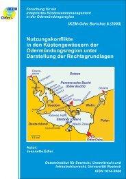 IKZM-Oder Berichte 8 - Hintergrund - Küsten Union Deutschland