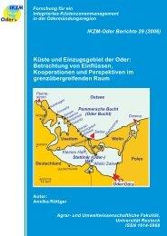 Küste und Einzugsgebiet der Oder - Hintergrund - Küsten Union ...