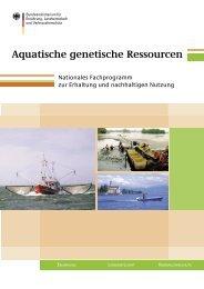 Aquatische genetische Ressourcen - IKZM-D Lernen