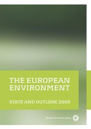 The European environment - State and outlook ... - IKZM-D Lernen