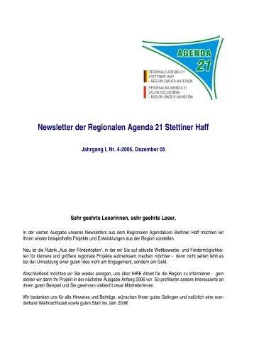 Newsletter Nr. 4 RA Stettiner Haff - IKZM-Oder